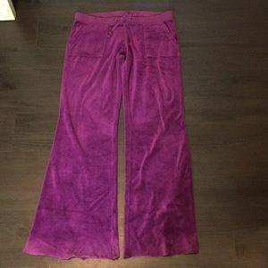 Juicy Couture Velour Cargo Pants